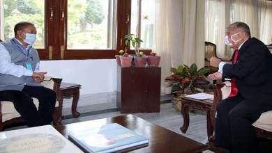 Photo of Arunachal: Home Minister Bamang Felix calls on the Governor