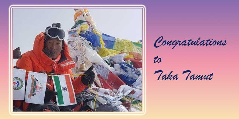 Arunachal: Mountaineer Taka Tamut selected for 'Tenzing Norgay National Adventure Award'