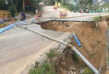 Itanagar:Are authorities waiting for an accident due to damaged road at Niti Vihar...?