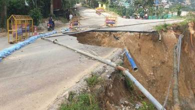 Photo of Itanagar: Are authorities waiting for an accident due to damaged road at Niti Vihar…?