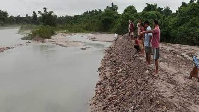 Photo of Arunachal: Borgulian Service Union carries out voluntary flood diversion social service