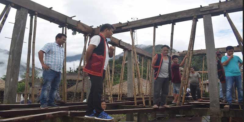 Arunachal: Ojing Tasing assured all round development of Pangkang