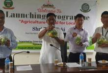 "Photo of Arunachal: Tage Taki launches ""Agriculture- Vocal for Local"""