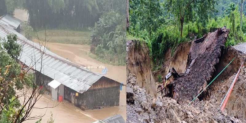 Arunachal Flood: Pema Khandu expresses grives over loss of lives and properties