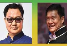 Photo of Arunachal: Pema Khandu, Kiren Rijiju, will attend semi-virtual party meeting
