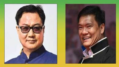 Arunachal: Pema Khandu, Kiren Rijiju, will attend semi-virtual party meeting