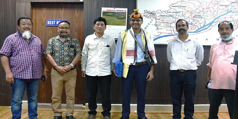 Itanagar-DIPR Officers Bid Adieu to IPR Secretary Himanshu Gupta