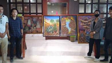Photo of Arunachal: Painting Exhibition 'Avante Garde' held at Hotel Pybbs