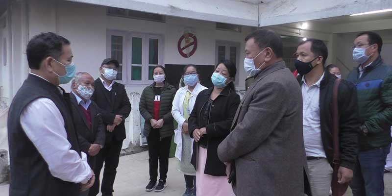 Arunachal: Alo Libang visits Community Health Center at Bhalukpong and General Hospital at Bomdila