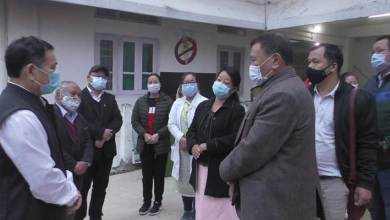 Photo of Arunachal: Alo Libang visits Community Health Center at Bhalukpong and General Hospital at Bomdila