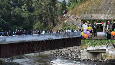 Photo of Arunachal: Bamang Felix inaugurates two bridges  in Nyobia and Sangram