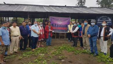 Photo of Arunachal- 'Hillarians group' donates funds to flood affected Pry School Sigar