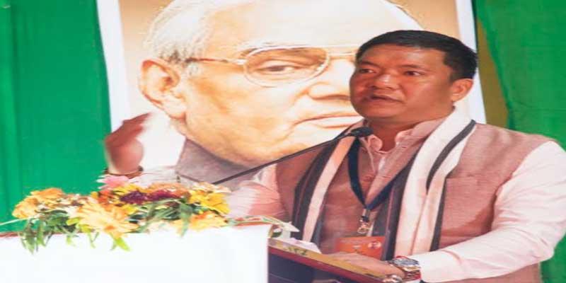 Arunachal- BJP's ideology, ideals and values should reach the grassroots- Pema Khandu
