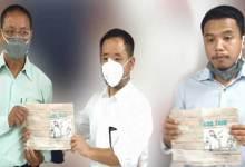 "Itanagar: Toko Jyoti unveilsbook "" Tales of Abo Tani"""