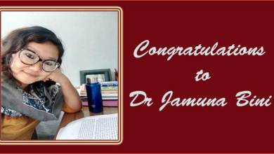 Arunachal: Dr. Jamuna Bini has been chosen for 'Tilka Manjhi National Award' for literature