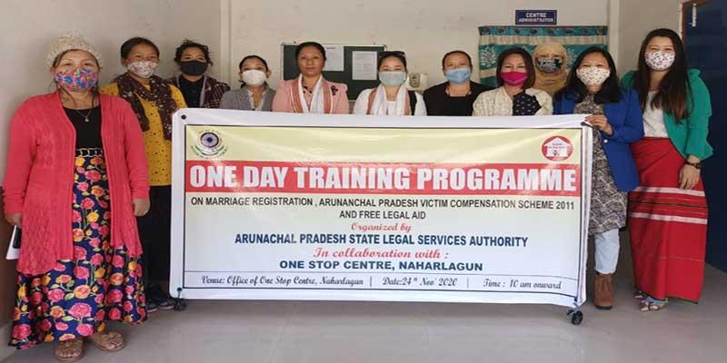 Arunachal: Training programme on Marriage Registration