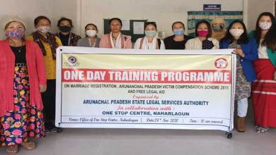 Arunachal: Training programme on Marriage Registration