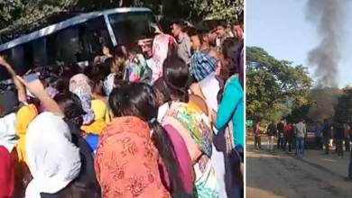 Arunachal-Assam border tensed at Rauksin and Likabali after killing of a truck driver