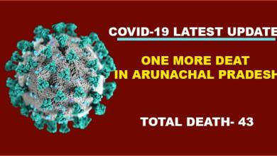 Arunachal Pradesh reports one more Covid-19 death, 77 fresh cases