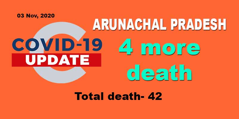 Arunachal: Four more persons succumb to COVID-19 infection
