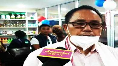 Arunachal: Dapke inaugurates shops for Herbal Products