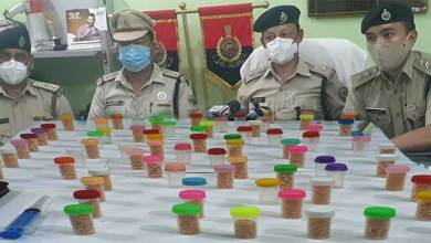 The Capital police nabbed two drug peddlers and seized 50 numbers of plastic vials containing suspected Brown Sugar approximately 68 grams a which may cost 2 to 5 lakhs,