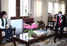 Arunachal: Kamlung Mosang calls on the Governor