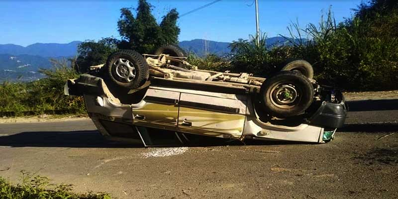 Arunachal: one dead, one injured in road accident in Hollongi
