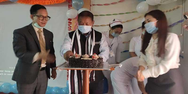 Itanagar: Felix inaugurates Home Medical Service unit at Hema Hospital