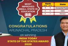 Arunachal fights against COVID, wins annual India Today awards