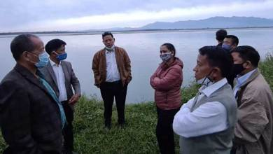 Arunachal:  joint committee of Brahmaputra Board, PWD, WRD inspects flood hit Mebo Sub-Division
