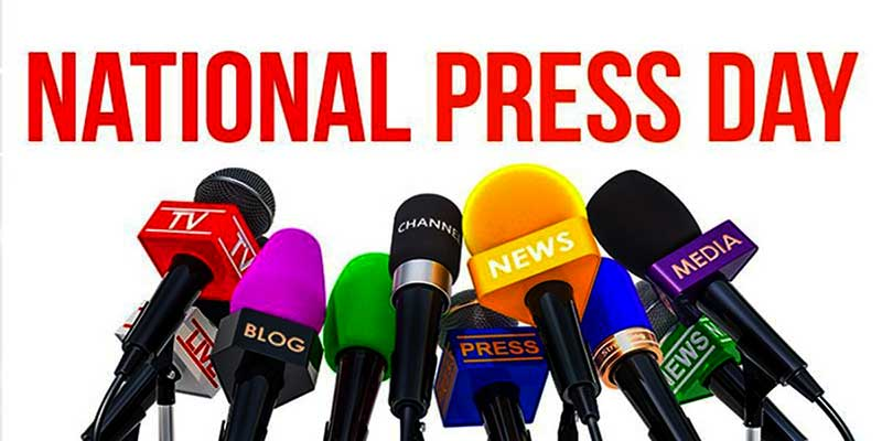 Arunachal Governor extends National Press Day greeting