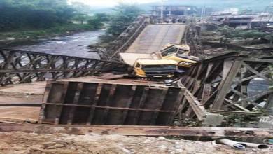 Arunachal:Sigin bridge connecting Kamle district and Upper Subansiri collapse, case registered