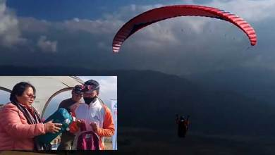 Paragliding school in London wants to explore Arunachal- Vijay Sonam