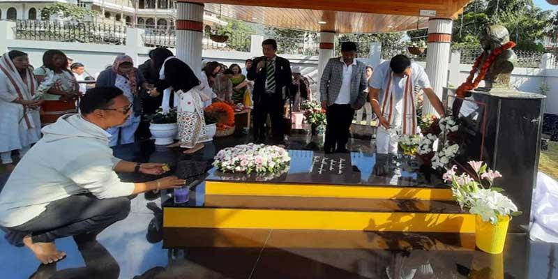 Itanagar: first death anniversary of Mepung Passang Cheda observed