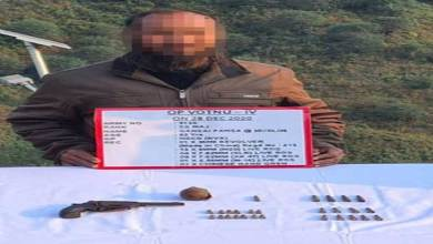 Arunachal: one NSCN ( K-YA ) militant surrenders to security forces in Longding
