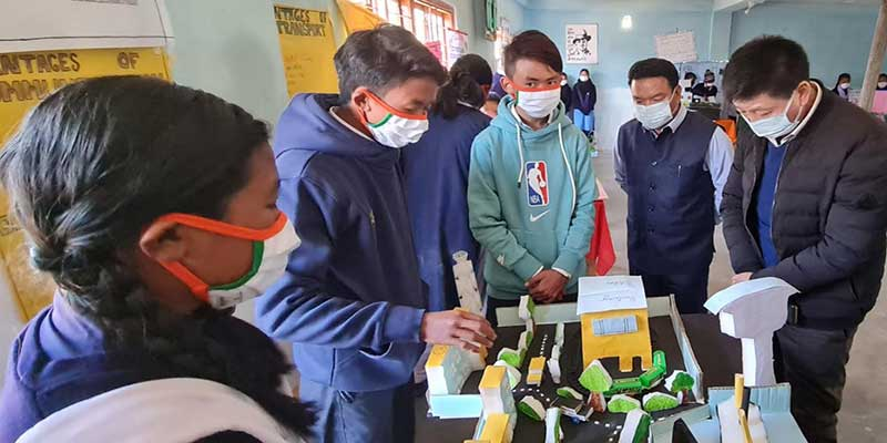 Arunachal: Science Exhibition held at Town Secondary School Tawang