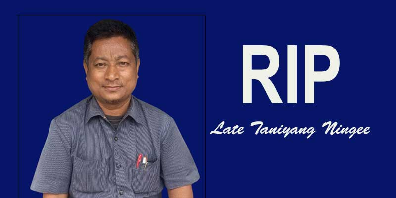 Arunachal: RGU fraternity mourns the demise of Taniyang Ningee