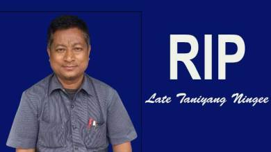 Arunachal: RGU fraternity mourns the demise of Taniyang Ningee