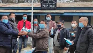 Arunachal: DDSE distributes Masks, Hand sanitizers, thermal scanners, football, etc in various schools of Lower Subansiri