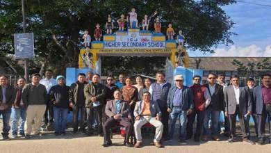 Arunachal: Friends of Eighties repair school gate of IGJGHSS, Pasighat voluntarily