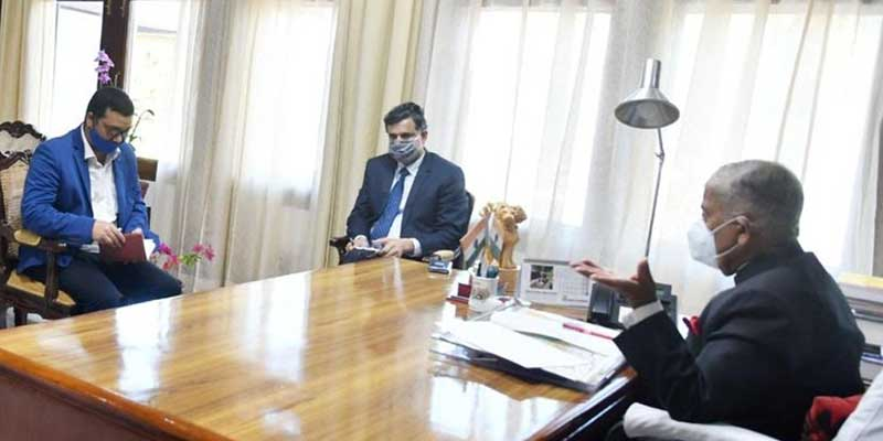 Itanagar: Governor ask IMC commissioner to take action against uncontrolled garbage dumping
