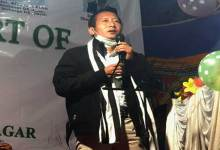 Itanagar:  JDU will win the IMC polls, claims Senchumo Lotha