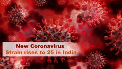 New Coronavirus Strain rises to 25 in India