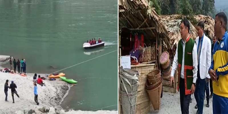 Arunachal: Mete-Mekong festival of Adventure begins at Kekrak near Yingkiong