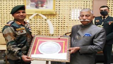 Arunachal: Governor felicitates the 3rd Battalion of The NAGA Regiment