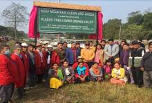 Arunachal: Keep mountain clean and green in Lower diving valley