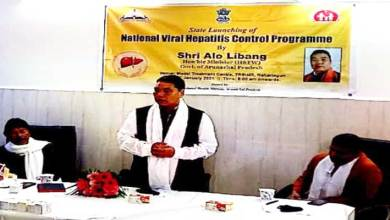 Arunachal: Alo Libang launches 'National Viral Hepatitis Control Program' (NVHCP)
