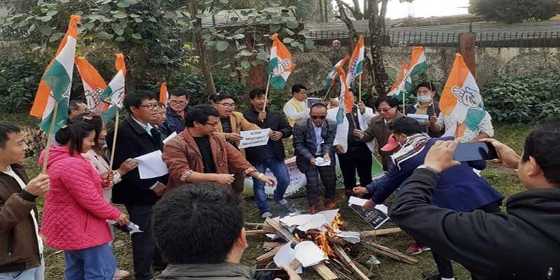 Itanagar- APCC observes Kisan Adhikar Diwas