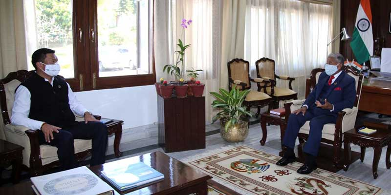 Arunacha:Chief Minister calls on the Governor